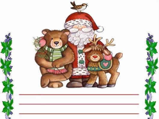 carta de navidad para una amiga