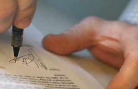 firma de carta solicitando